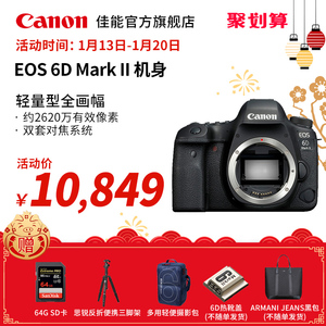 Canon/佳能 EOS 6D Mark II機身